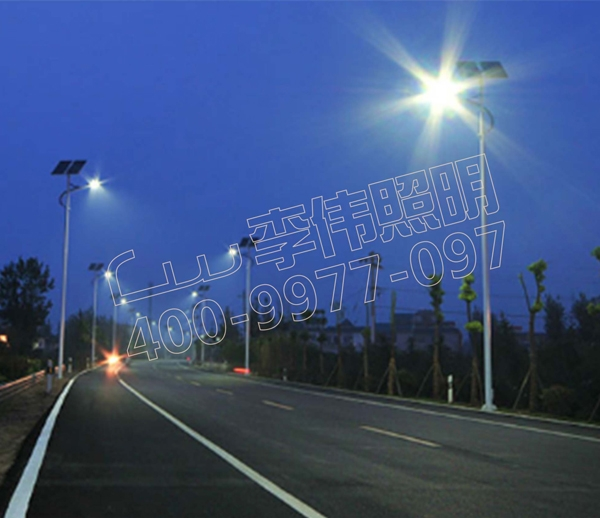 Yancheng Binhu Road Lighting Project