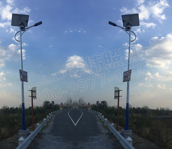 Solar Street Light Project in Pasay City, Philippines